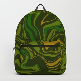 Army Camo Marble Melt Backpack