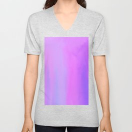 Melancholy After the Work is Done: Oil Abstract Painting Surrealism Unisex V-Neck