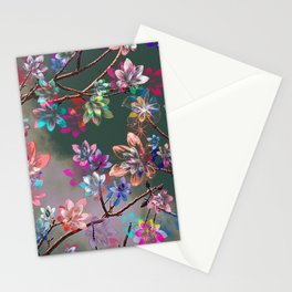 Floral abstract 76 Stationery Cards
