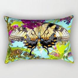 Yellow Butterfly Transparent in the Sun Rectangular Pillow