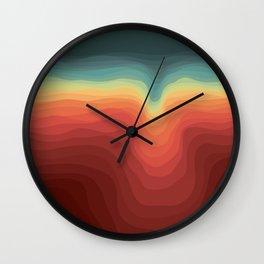 Dispersal Wall Clock