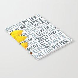 Umbrella  Pitter Patter Notebook