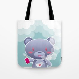 Vapers are Welcome (bear edition) Tote Bag