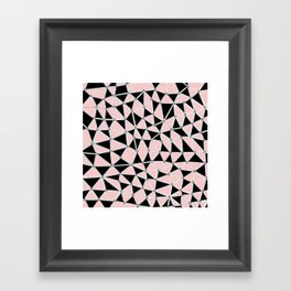 African Blush Framed Art Print
