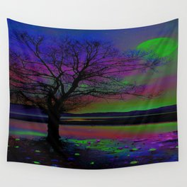 Magical Night Time Wall Tapestry