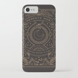 Memento Mori - Prepare to Party iPhone Case