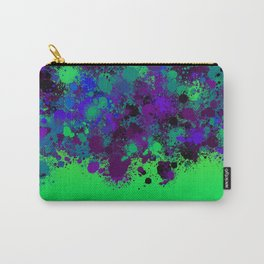 paint splatter on gradient pattern pgo Carry-All Pouch