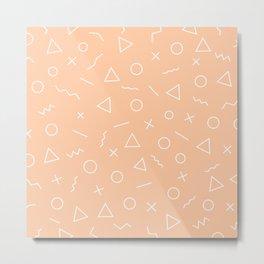 MEMPHIS ((melon)) Metal Print