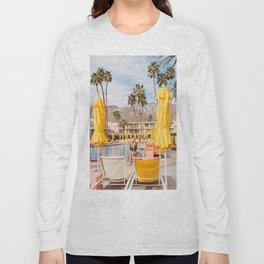 Palm Springs Pool Day VI Long Sleeve T-shirt