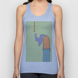 The wonder of electricity Unisex Tank Top