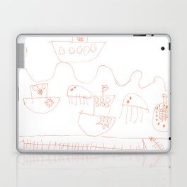Life at sea Laptop & iPad Skin
