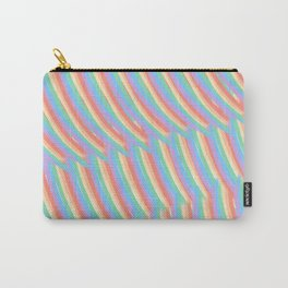 Rainbow Stripes 7 Carry-All Pouch