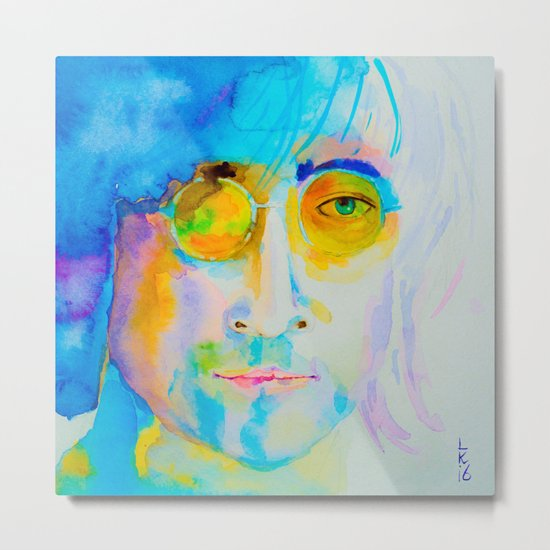 portrait of John Metal Print