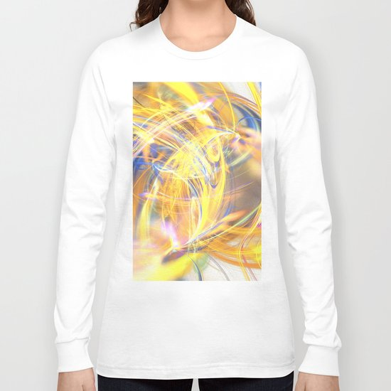 Party of Colours  (A7 B0204) Long Sleeve T-shirt