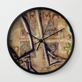 Surfaces Wall Clock