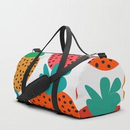 Funny strawberries Duffle Bag