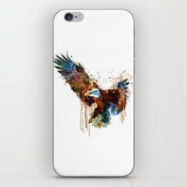 Free and Deadly Eagle iPhone Skin