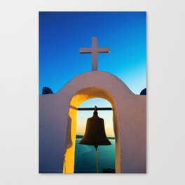 island church Canvas Print
