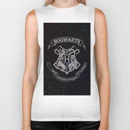 Cosmic Hogwarts Crest HP Biker Tank