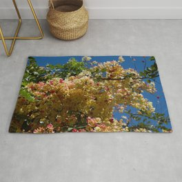 Wilhelmina Tenney Rainbow Shower Tree Rug
