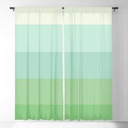 Sea Colours Gradient Stripe Blackout Curtain
