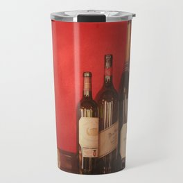 Wine on the Wall Travel Mug