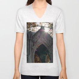 Temple in the eye Unisex V-Neck