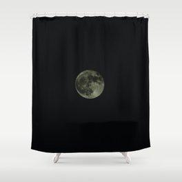 Moon5 Shower Curtain
