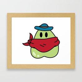 Bandit Slime Framed Art Print
