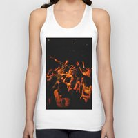 it crowd Tank Tops featuring The crowd by Old Sole Studio