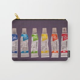 watercolor tubes Carry-All Pouch