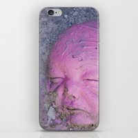 no face iPhone & iPod Skins featuring Face by Victoria Herrera