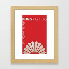 Women Team Minimal (The King of Fighters XIII series) Framed Art Print