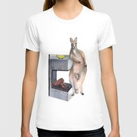 kangaroo T-shirts featuring Kangaroo by Big AL
