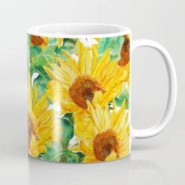 sunflower pattern Coffee Mug