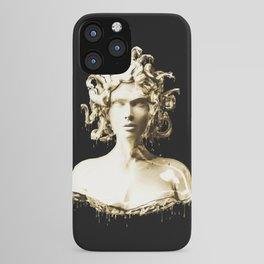 Gold Medusa iPhone Case