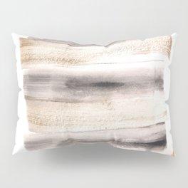 [161216] 7. Golden |Watercolor Brush Stroke Pillow Sham