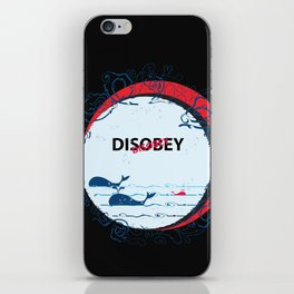 DIS Obey Whale iPhone Skin