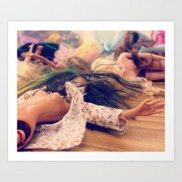 Dollplay Art Print
