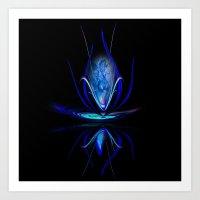 Flowermagic 100 Art Print