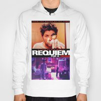 parks and rec Hoodies featuring Requiem for a Tuesdays Movie Poster (Parks and Rec) by Catofnimes