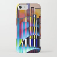seattle iPhone & iPod Cases featuring Seattle by Kristine Rae Hanning