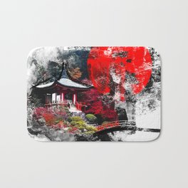 Abstract Kyoto Bath Mat