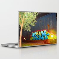train Laptop & iPad Skins featuring train by JuanPablo