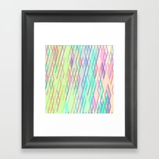 Re-Created Vertices No. 0 by Robert S. Lee Framed Art Print