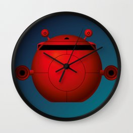Escape Pod Wall Clock