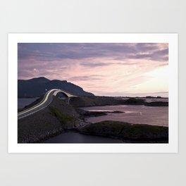The Atlantic Road Art Print