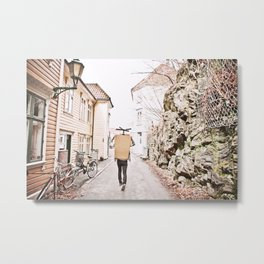 Alleyways Metal Print