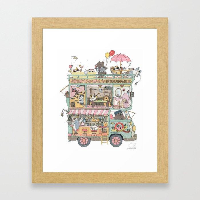 The dream car Framed Art Print