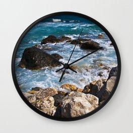 Meditative Power of the Sicilian Sea Wall Clock